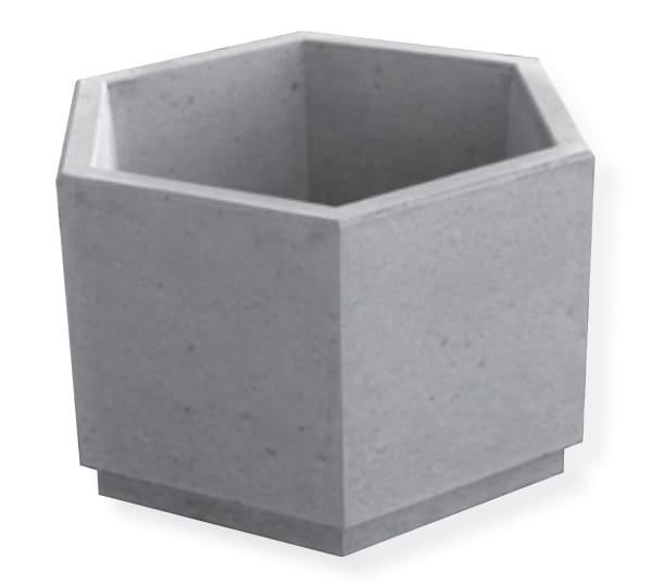sichtbeton blumentrog sechseck natursteine online versand. Black Bedroom Furniture Sets. Home Design Ideas